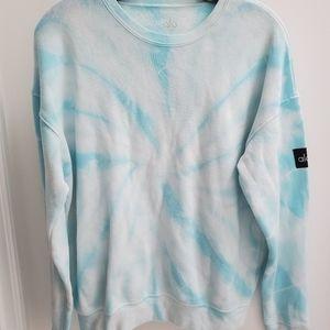 Alo Yoga Tie Dye Sweatshirt S
